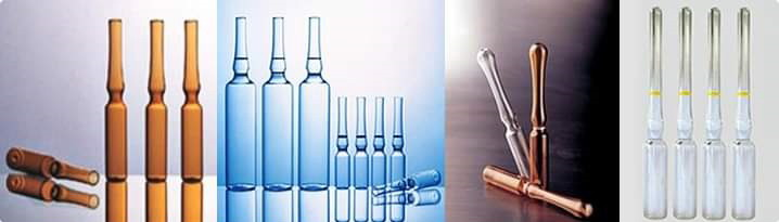 pharma aids glass ampoules